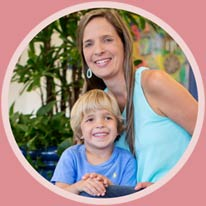 Kristel Robinson and her son, Aiden